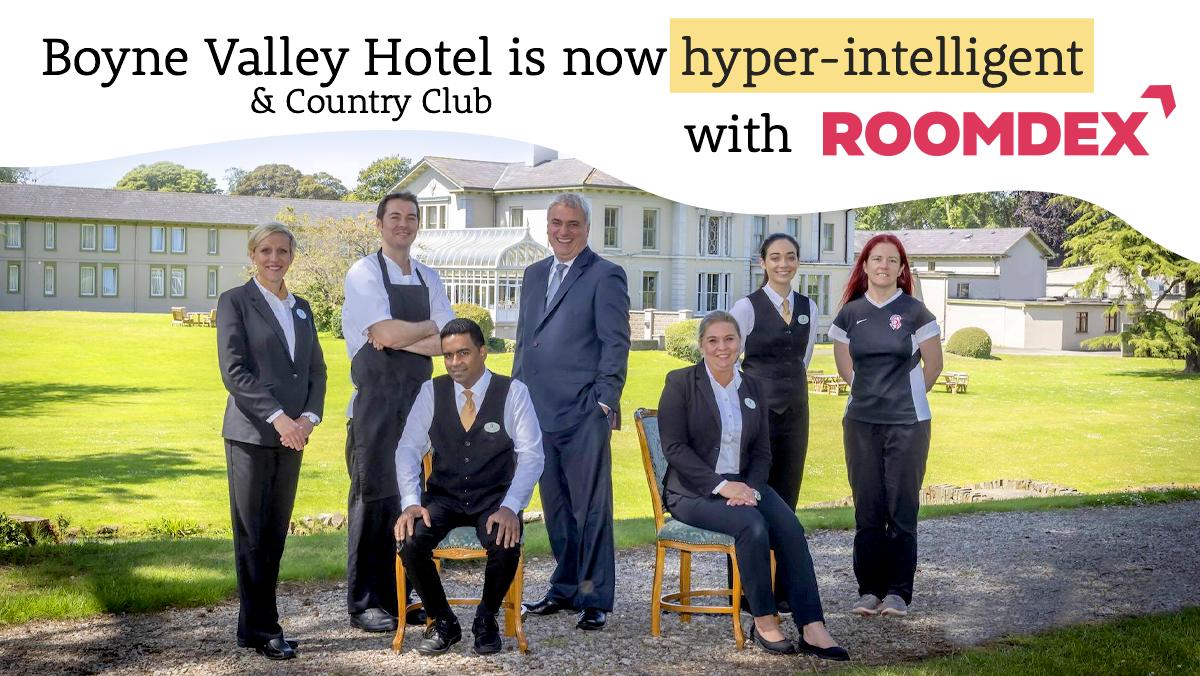 boyne valley is hyperintelligent with roomdex hotel upsell tool