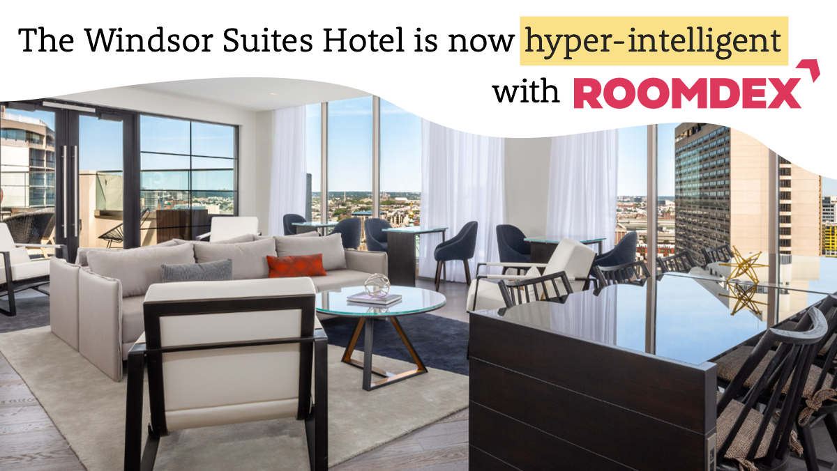 windsor suites hyperintelligent with roomdex