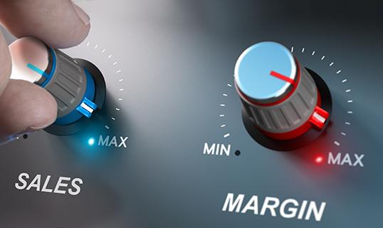 high margins